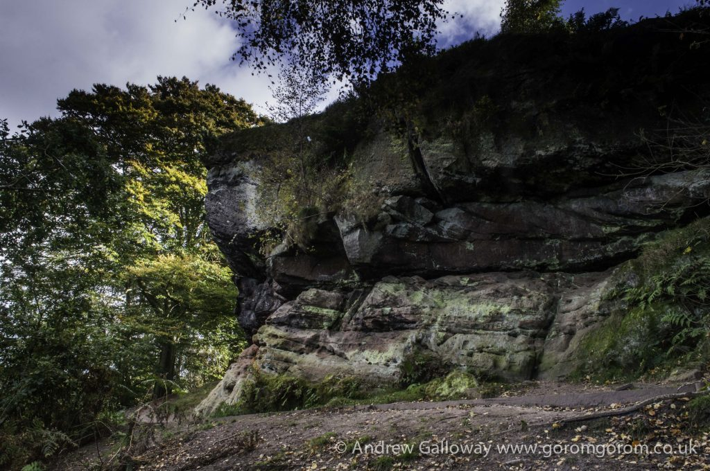 Castle Rock, Alderley