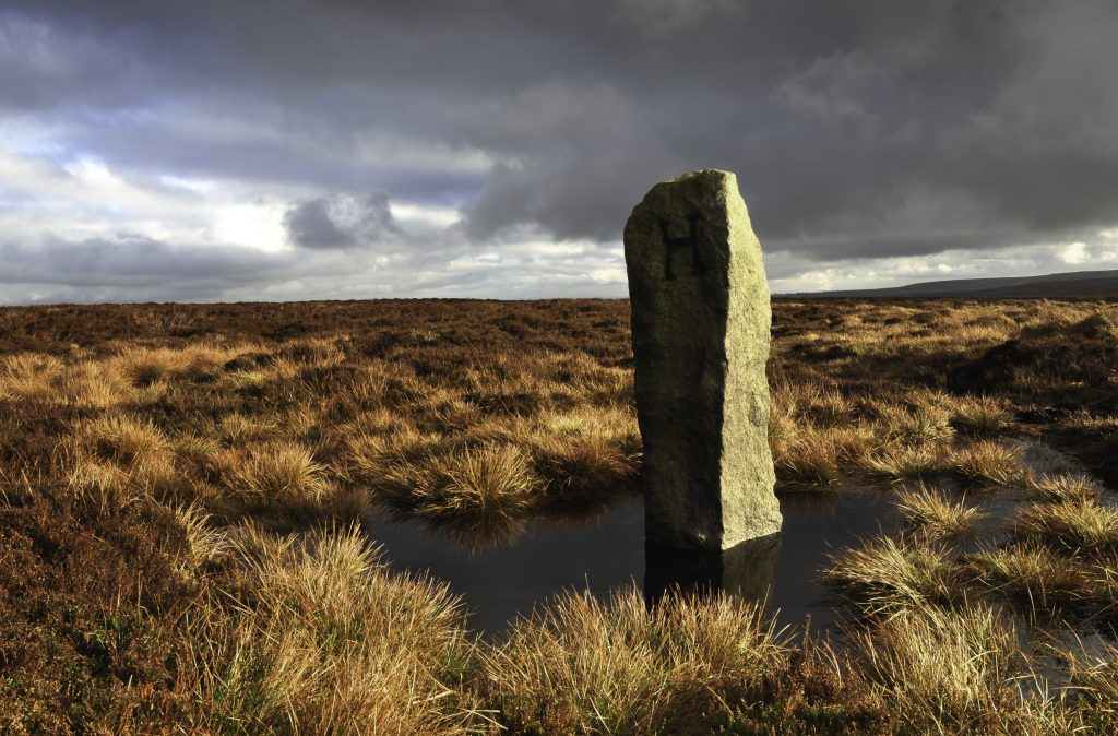 Boundary Stone between Haworth and Hepton