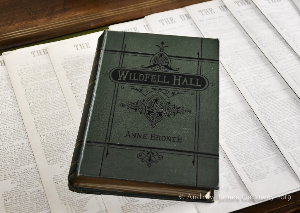 The 1880 edition go The Tenant of Wildfell Hall